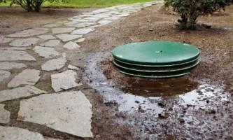 Автономная канализация на участке в высоким уровнем грунтовых вод