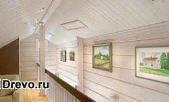 Чем обделать стены деревянного дома изнутри