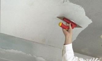 Чем выровнять потолок и как это сделать правильно