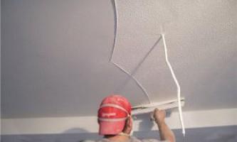 Чем выровнять потолок — материалы и технологии