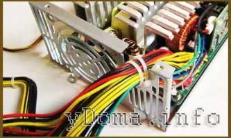 Цветовая маркировка проводов блоков питания компьютеров, установка дополнительных разъемов
