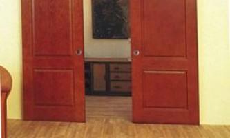 Делаем раздвижные двери