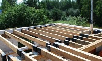 Деревянные перекрытия в доме из газобетона — практические советы