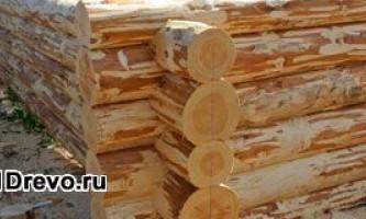Деревянные срубы из рубленного бревна для дома