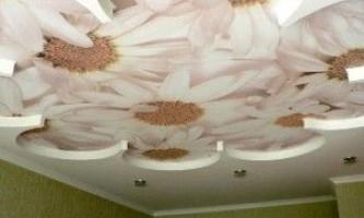 Гипсокартон на деревянный потолок — своими руками