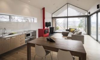 Гостевой особняк для семейного отдыха в новой зеландии (фото)