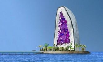 Грандиозный дизайн-проект отеля в виде россыпи драгоценных камней
