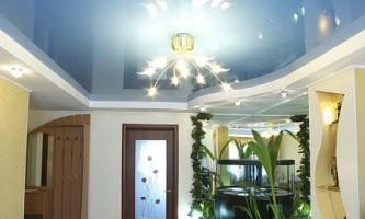 Характеристики и фото натяжных потолков випсилинг