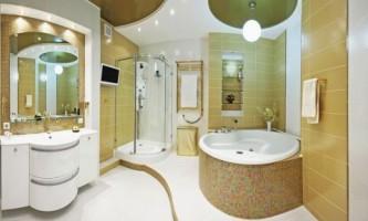 Интерьер ванной: функции и мебель