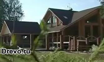Использование клеёного бруса для строительства дома - плюсы и минусы