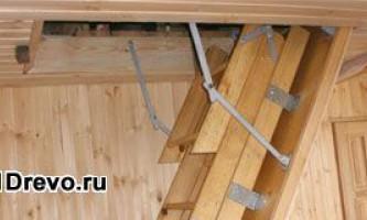 Изготовление и устройство люка на чердак дома