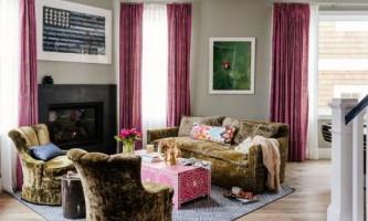 Ярко и со вкусом: красочный интерьер съемной квартиры