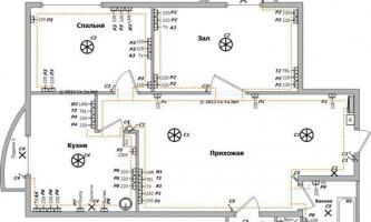 Прокладываем электропроводку в каркасном доме