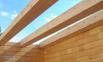 Как делают межэтажное перекрытие в деревянном доме