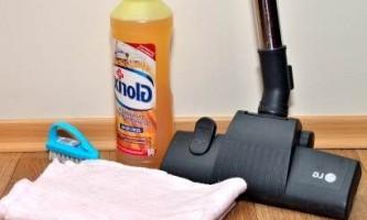 Как и чем мыть линолеум при разных загрязнениях
