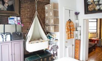 Как обустроить детскую в маленькой однокомнатной квартире?