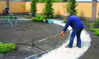 Как подготовить грунт для создания газона?