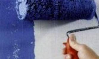 Как покрасить обои под покраску