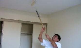 Как правильно покрасить потолок из гипсокартона?