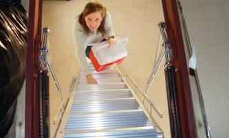 Как правильно выбрать чердачную лестницу