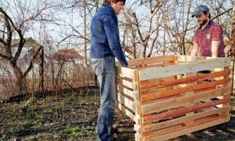 Как сделать деревянный компостер? Мастер-класс