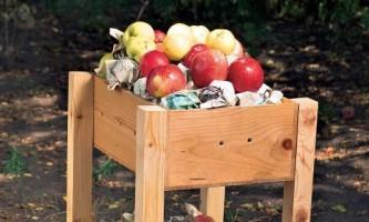 Как сделать ящик для хранения фруктов