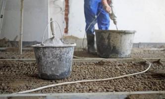 Как сделать пол по грунту: земляные работы и черновая стяжка