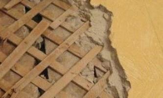 Как штукатурить деревянные стены? Крепим и набиваем дрань