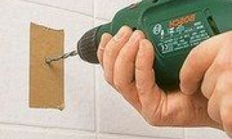 Как сверлить кафельную плитку