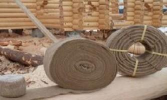 Как утеплить дом из оцилиндрованного бревна