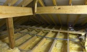 Как утеплить потолок в частном доме?
