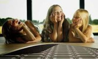 Как выбрать и смонтировать теплые полы электрические под ламинат