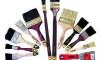Как выбрать инструмент для покрасочных работ