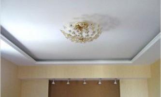 Как выровнять потолок под покраску — штукатурка, шпаклевка, подвесная конструкция