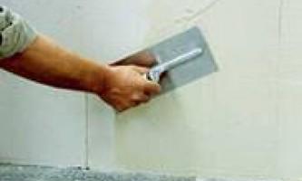 Как выровнять стены гкл?