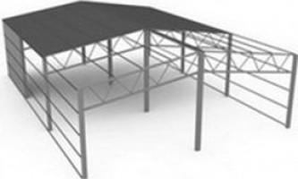 Как выровнять столбы для навеса: технология установки столбов