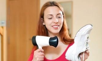 Как высушить мокрую обувь?