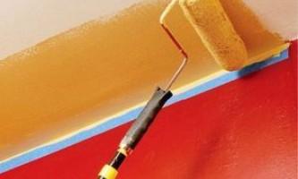 Каким валиком лучше красить потолок — все нюансы финишной отделки
