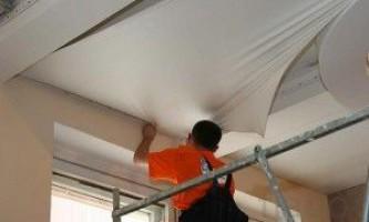 Какой инструмент необходим для монтажа натяжных потолков?