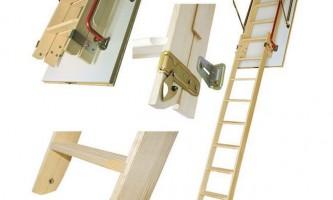 Какую чердачную лестницу выбрать и установить в доме