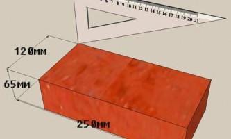 Красный кирпич – «знакомый» строительный материал