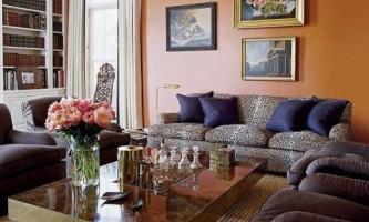 Леопардовые принты в интерьере: стильные идеи