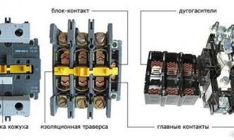 Магнитный пускатель электрический