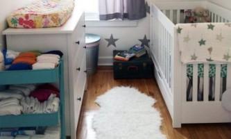 Маленькая детская комната со стильным интерьером