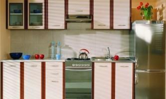 Фасад кухни: экономичная дсп
