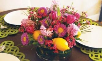 Мастер-класс.цветочная композиция из весенних цветов (фото)