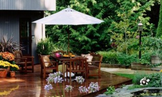Между домом и садом: проектирование террасы