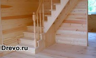 Межэтажная деревянная лестница: этапы строительства