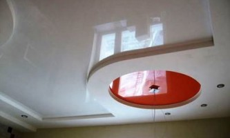 Многоуровневые натяжные потолки: делаем монтаж своими руками