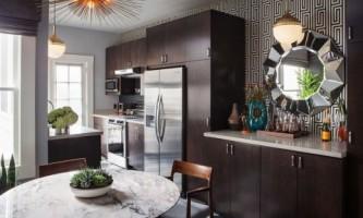 Модный современный интерьер кухни от талантливого дизайнера